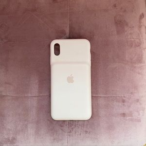 iPhone XS max Apple Charging case light pink